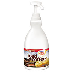Coffee-mate® Concentrated Iced Coffee, Cafe Mocha, 1.5 L Pump Bottle NES83426