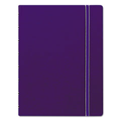 Filofax® Notebook, College Rule, Blue Cover, 8 1/4 x 5 13/16, 112 Sheets/Pad REDB115009U