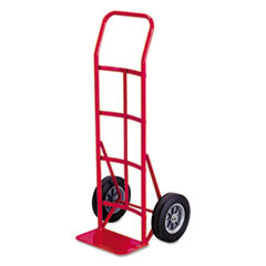 Safco® Two-Wheel Steel Hand Truck, 500lb Capacity, 18 x 44, Red SAF4092