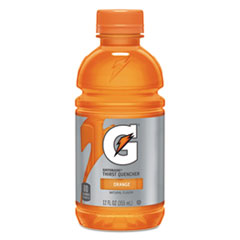 Gatorade® G-Series Perform 02 Thirst Quencher, Orange, 12 oz Bottle, 24/Carton