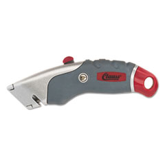 Clauss® Titanium Auto-Retract Utility Knife