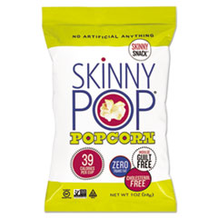 SkinnyPop® Popcorn Popcorn, Original, 1 oz Bag, 12/Carton