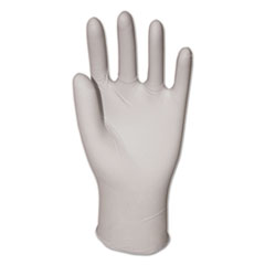 GEN General Purpose Vinyl Gloves, Powder-Free, Large, Clear, 3.6 mil, 1000/Carton