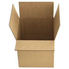 General Supply Brown Corrugated - Fixed-Depth Shipping Boxes, 12l x 9w x 6h, 25/Bundle UFS1296