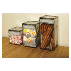Office Settings Stackable Glass Storage Jars Thumbnail