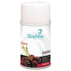 TimeMist® Premium Metered Air Freshener Refill, Cherry, 6.6 oz Aerosol, 12/Carton