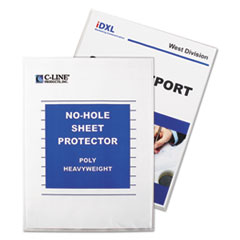 C-Line® No-Hole Polypropylene Sheet Protector Thumbnail