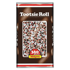 Tootsie Roll® Midgees, Original, 38.8 oz Bag, 360 Pieces