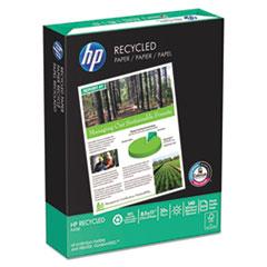 HP Office Recycled Paper, 92 Brightness, 20lb, 8-1/2 x 11, White, 5000 Shts/Ctn