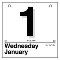 "AT-A-GLANCE® ""Today Is"" Daily Wall Calendar Refill"