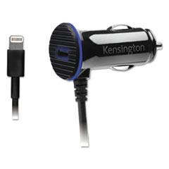 Kensington® PowerBolt 3.4 Dual Port Fast Charge Car Charger