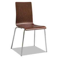 Safco® Bosk Stack Chair, Cherry, 2/Carton SAF4298CY