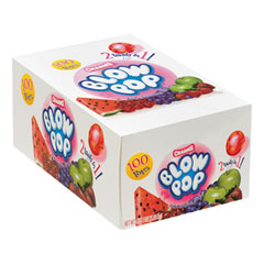 Charms® Blow Pops, 0.8 oz, Assorted Fruity Flavors, 100/Box