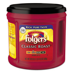 Folgers® Coffee, Classic Roast, Ground, 30.5 oz Canister