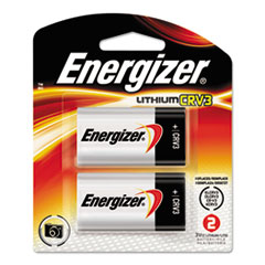 Energizer® CRV3 Lithium Photo Battery, 3V, 2/Pack