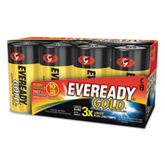 Eveready® Gold C Batteries, 1.5V, 8/Pack
