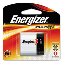 Energizer® 223 Lithium Photo Battery, 6V