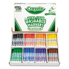 Crayola® Ultra-Clean Washable™ Marker Classpack® Thumbnail