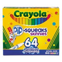 Crayola® Pip-Squeaks Skinnies™ Washable Markers Thumbnail