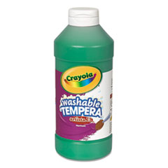 Crayola® Artista II Washable Tempera Paint, Green, 16 oz