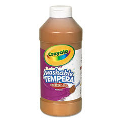Crayola® Artista II Washable Tempera Paint, Brown, 16 oz