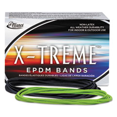 ALL02005 - X-treme File Bands, 117B, 7 x 1/8, Lime Green, Approx. 175 Bands/1lb Box