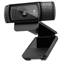 Image of C920 HD Pro Webcam, 1080p, Black Cameras LOG960000764 Logitech