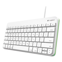 Logitech® Wired Keyboard for iPad, Apple Lightning, White