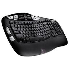 Logitech® K350 Wireless Keyboard, Black