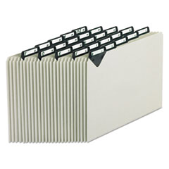 Pendaflex® Steel Top Tab A-Z File Guides