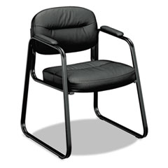 HON® VL653 Leather Guest Chair Thumbnail