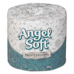 Angel Soft ps Premium Bathroom Tissue, 450 Sheets/Roll, 80 Rolls/Carton