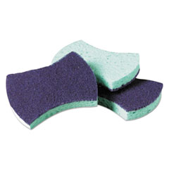 Scotch-Brite™ PROFESSIONAL Power Sponge #3000, 2.8 x 4.5, Blue/Teal, 20/Carton
