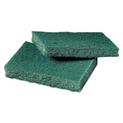 Scotch-Brite™ PROFESSIONAL General Purpose Scrub Pad, 3 x 4 1/2, Green, 40 per Box/2 Boxes per Carton