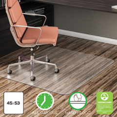 deflecto® EconoMat® Non-Studded Anytime Use Chairmat for Hard Floors Thumbnail