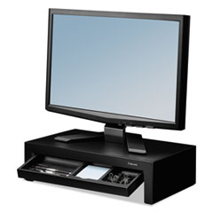Adjustable Monitor Riser with Storage Tray