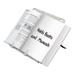 BookLift Copyholder, Plastic, One Book/Pad, Platinum