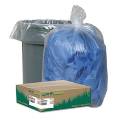 Earthsense® Commercial Linear Low Density Clear Recycled Can Liners