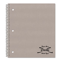 National® Single-Subject Wirebound Notebooks, 1 Subject, Medium/College Rule, Assorted Color Covers, 11 x 8.88, 80 Sheets
