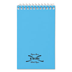 National® Wirebound Memo Book, Narrow Rule, 3 x 5, White, 60 Sheets