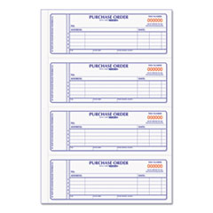 Rediform® Purchase Order Book, 7 x 2 3/4, Two-Part Carbonless, 400 Sets/Book