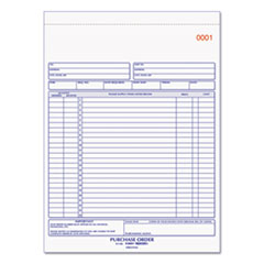 Rediform® Purchase Order Book, 8 1/2 x 11, Letter, Two-Part Carbonless, 50 Sets/Book