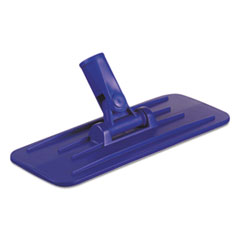 Boardwalk® Swivel Pad Holder, Plastic, Blue, 4 x 9