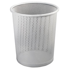 Artistic® Urban Collection Punched Metal Wastebin Thumbnail