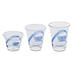 Eco-Products® BlueStripe™ Recycled Content Clear Plastic Cold Drink Cups Thumbnail