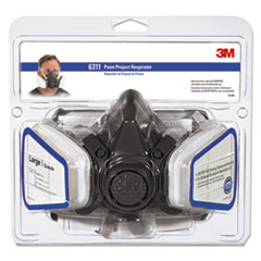 3M™ Half Facepiece Paint Spray/Pesticide Respirator, Large