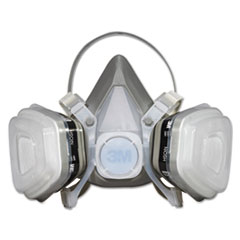 3M™ Dual Cartridge Respirator Assembly 52P71, Organic Vapor/P95, Medium