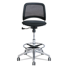 Reve Series Mesh Extended-Height Chair, Black