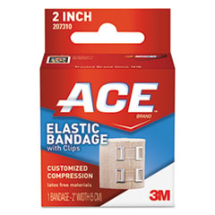 "ACE™ Elastic Bandage with E-Z Clips, 2"" x 50"""