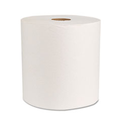 "Boardwalk® Boardwalk Green Universal Roll Towels, Natural White, 8""x800ft, 6 Rolls/Carton"